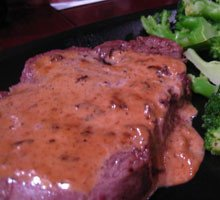 Filet with Creamy Mustard Sauce