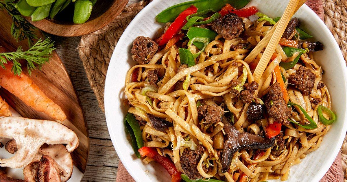 Beef Lo Mein recipe