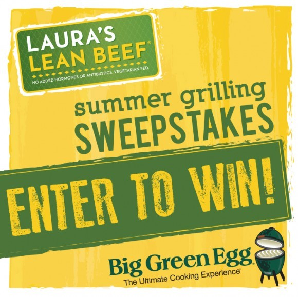 Laura's Lean Beef Summer Grilling Sweepstakes 2013
