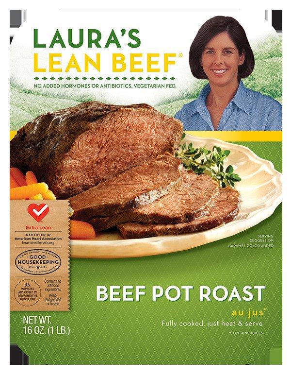 Laura's Lean Beef Potroast