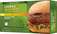 92% Lean Ground Beef Frozen Patties