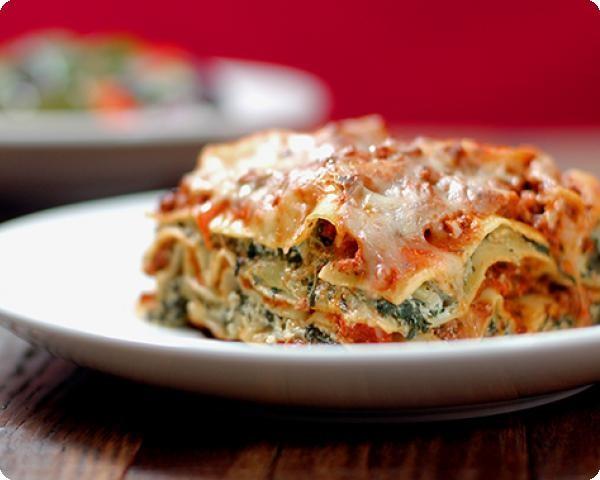 Beef-Pesto Lasagna