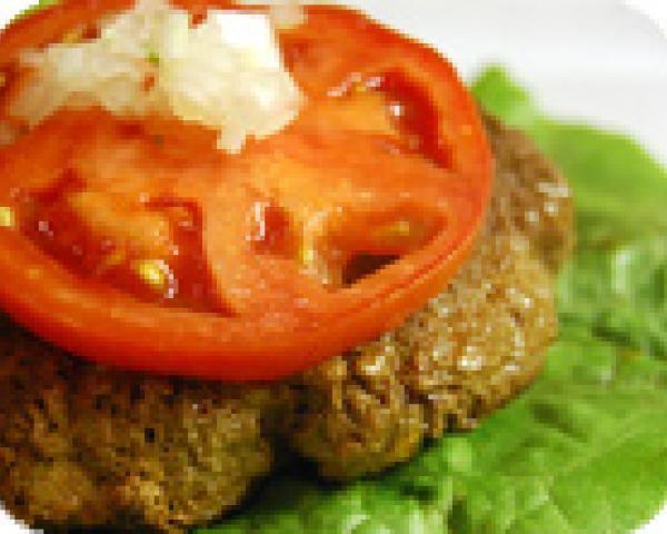 Beefy Mushroom Burgers