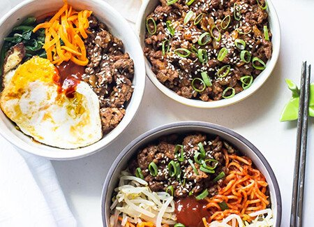 Easy Ground Beef Bulgogi