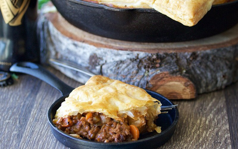 Irish Beef & Stout Potpie Recipe
