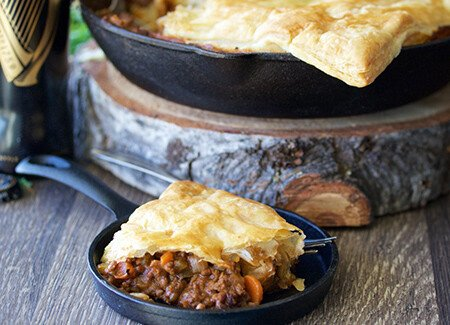 Irish Beef & Stout Potpie Recipe