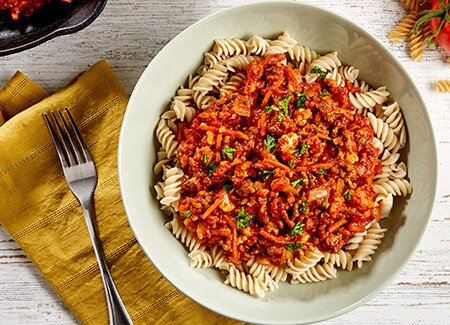 Jen Widerstrom's Meat Sauce and Pasta