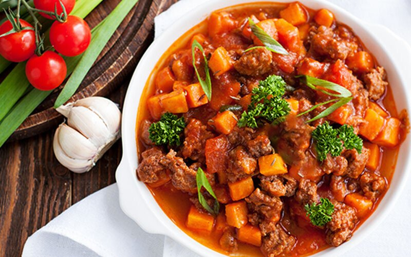 Jen Widerstrom's Slow Cooker Sweet Potato Chili