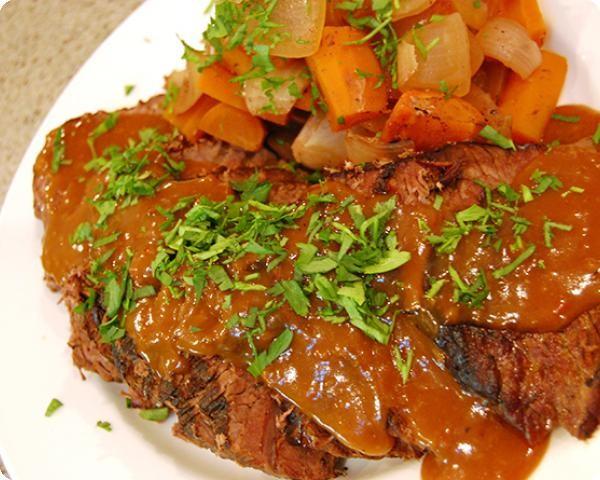 Laura's Lean Beef Sauerbraten
