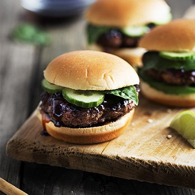 Lemongrass Beef Sliders