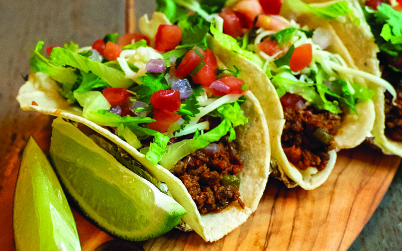 Picadillo Tacos With Fresh Corn Tortillas