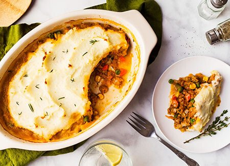 Plant-Based Shepherd's Pie