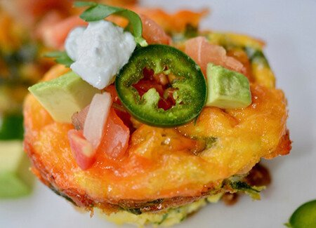 Southwest Taco Egg Bites