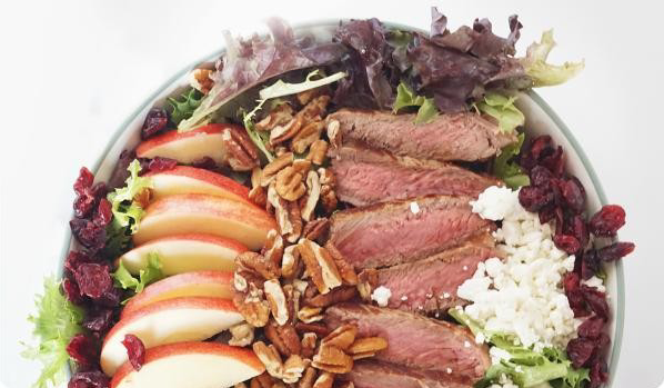 Winter Steak Salad